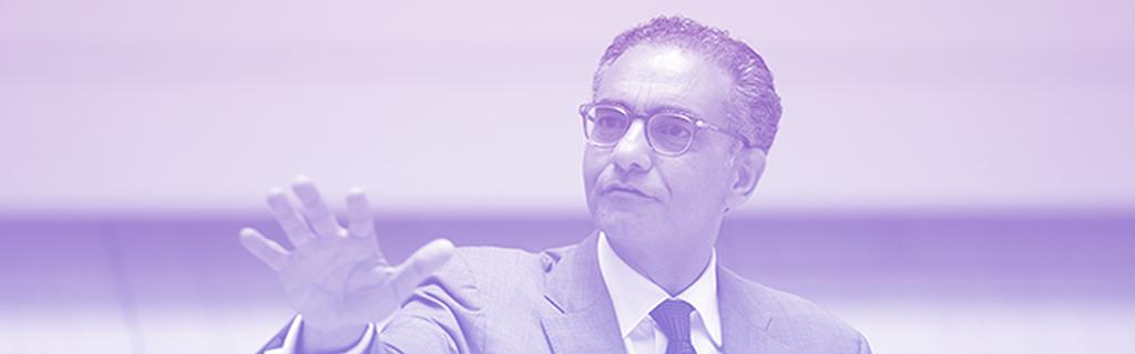 Le président démissionnaire de l'ICANN, Fadi Chehadé