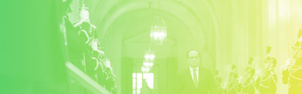 François Hollande arrivant au Congrès, le 16 novembre 2015