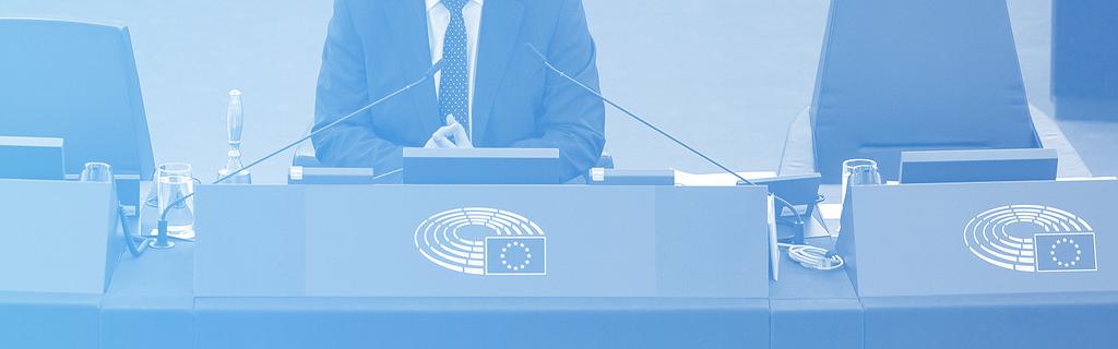 Martin Schulz, au Parlement européen à Strasbourg