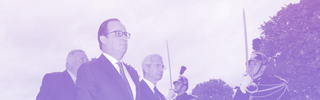 Hollande arrive au Congrès