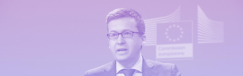 Le commissaire européen en charge de la recherche et l'innovation Carlos Moedas