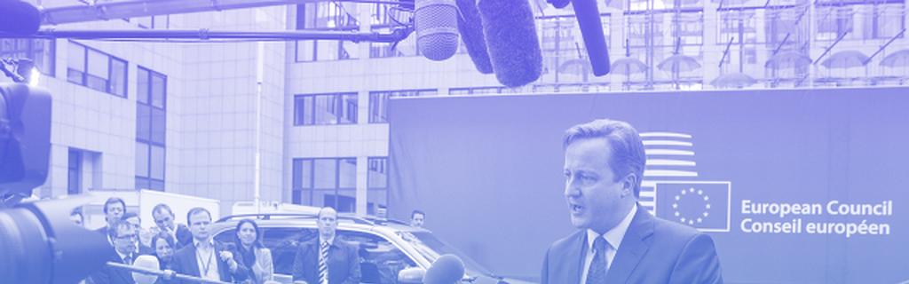 David Cameron à Bruxelles, le 17 décembre 2015
