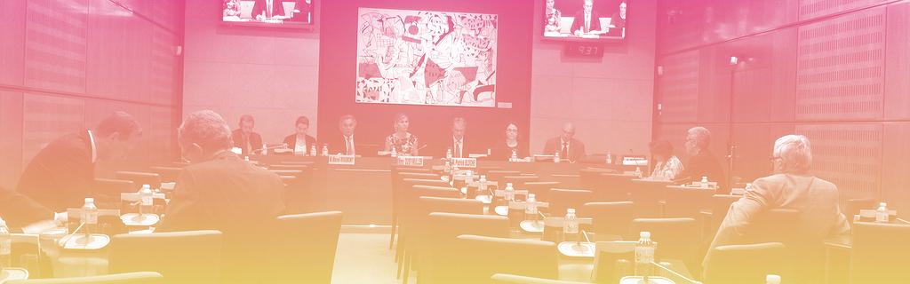 La salle de la commission des affaires culturelles
