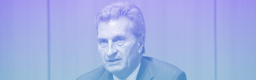 Günther Oettinger.