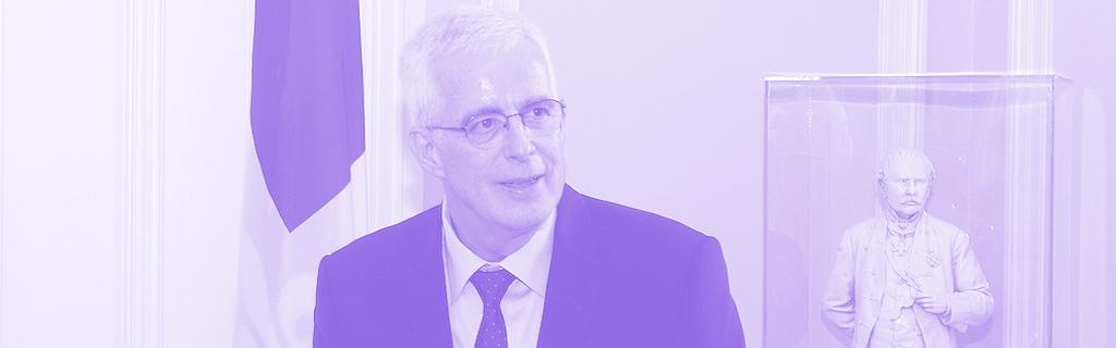 Jacques Saint-Laurent, le commissaire à la déontologie de l'assemblée du Québec