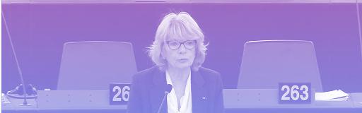 Elisabeth Morin Chartier (PPE), en séance plénière, avril 2016