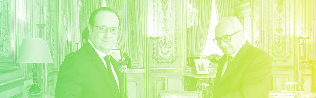 François Hollande et François Logerot