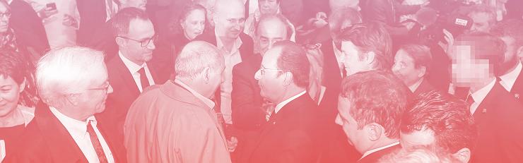 François Hollande au Congrès des maires, le 2 juin