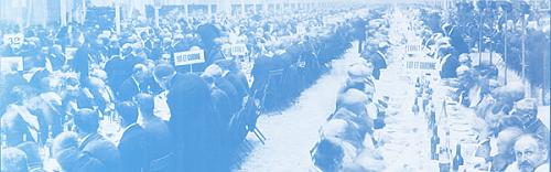 Grand banquet des maires de France en 1900