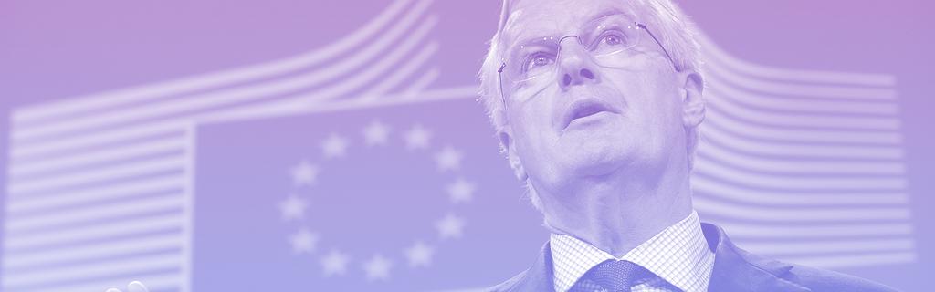 Michel Barnier en 2014 à la Commission européenne