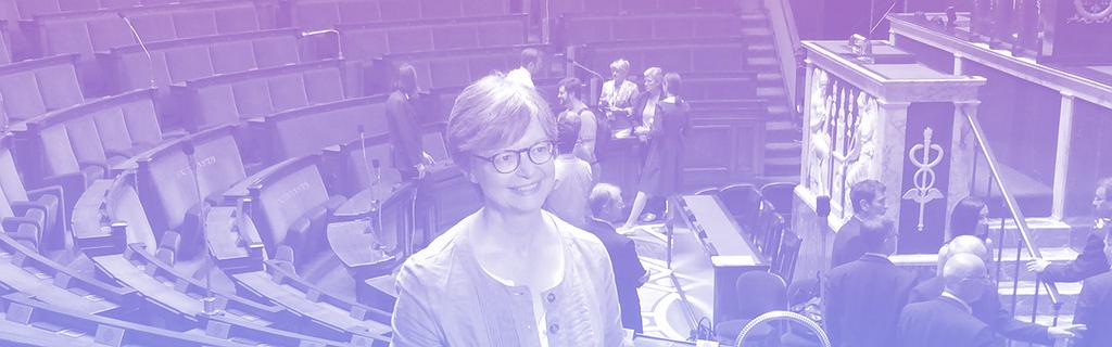 Christine Hennion, députée LRM impliquée sur le numérique.