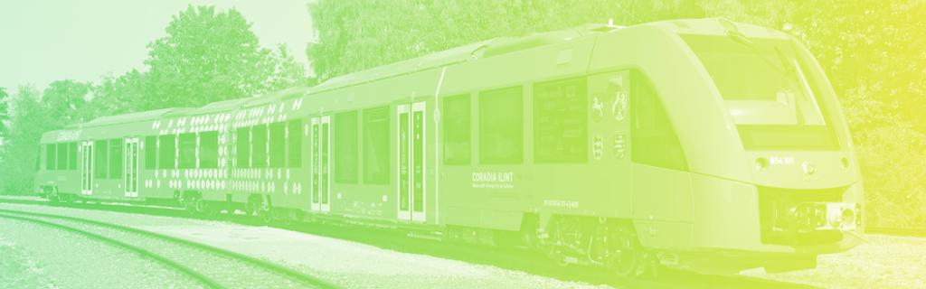 Le Coradia iLint d'Alstom, inauguré sur une première ligne commerciale en Allemagne le 17 septembre 2018
