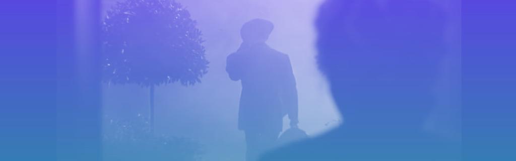 Clark Gable disant adieu à Vivien Leigh dans Autant en emporte le vent