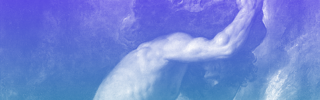 Le mythe de Sisyphe peint par le Titien