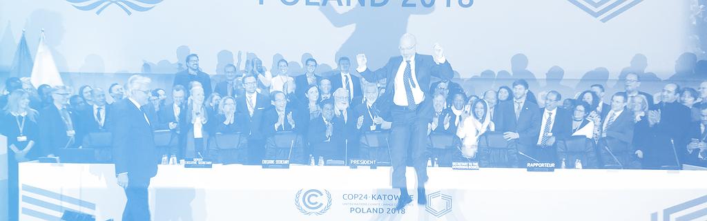 Le président de la COP24 lévite de joie