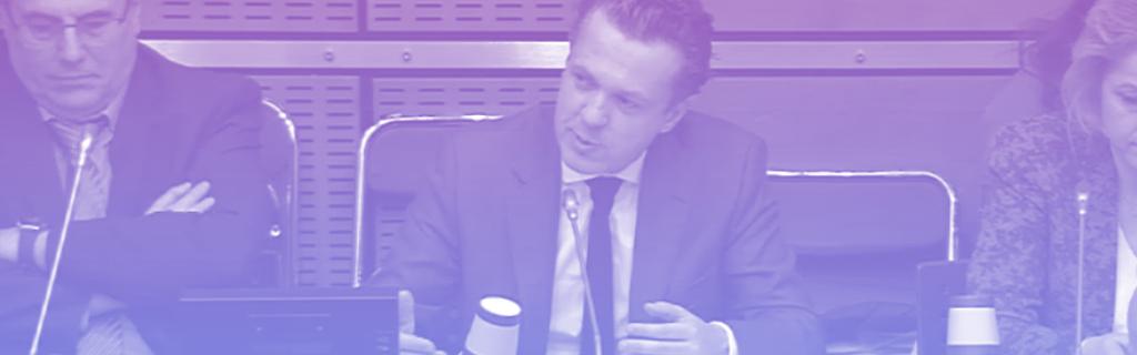 Christophe Béchu à l'Assemblée le 30 janvier 2019