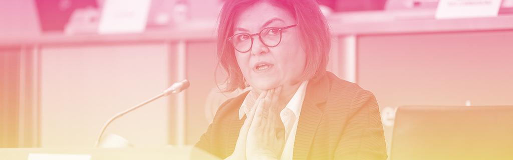 Adina-Ioana Valean, commissaire dans les grandes lignes