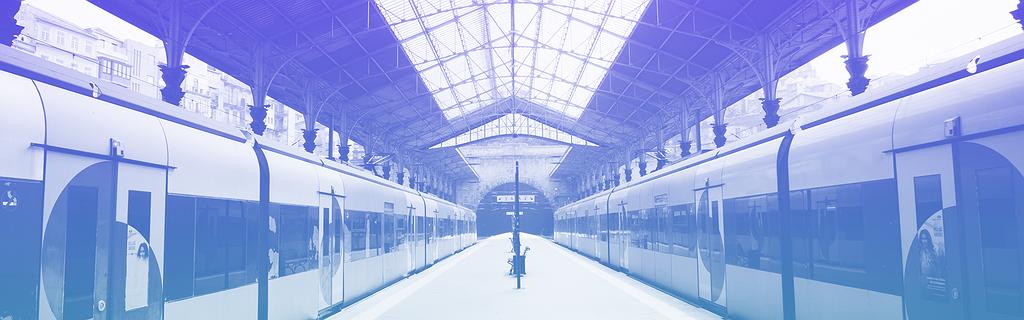 Les quais de la gare de Porto (Claudio Schwarz / Unslash)