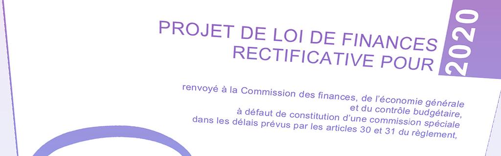 Document - Le quatrième projet de budget rectificatif (PLFR 4)