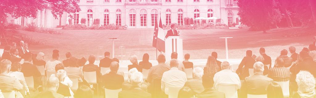 Emmanuel Macron devant la Convention citoyenne pour le climat le 29 juin