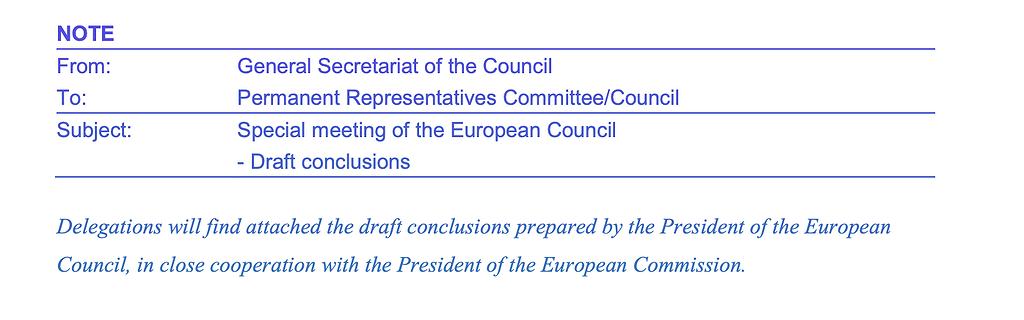 Charles Michel a préparé une nouvelle proposition datée du 14 février sur le budget européen pluriannuel