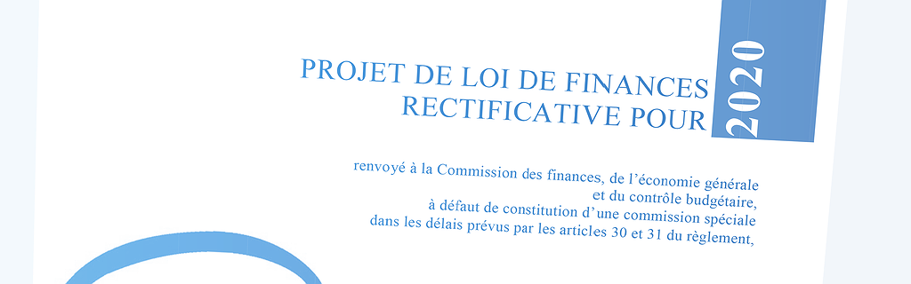 Document - Le projet de loi de finances rectificative Covid-19
