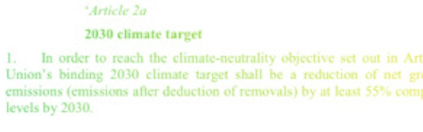 Article 2 - loi climat