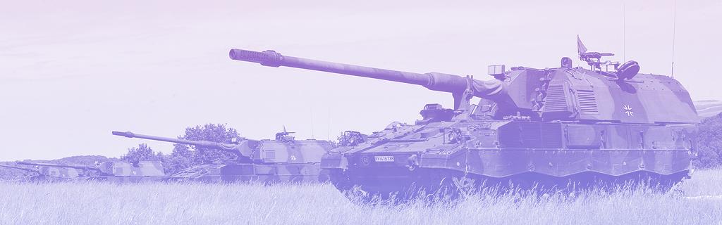 L'artillerie face aux plateformes