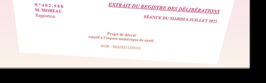 Extrait du projet de décret sur l'ENS.