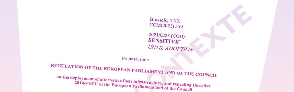 """Le projet de règlement """"Afid"""" doit être présenté le 14 juillet."""